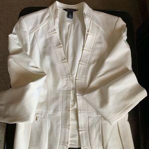 Winter white blazer